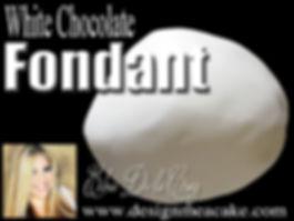 White Chocolate Fondant Recipe