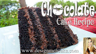 Moist Chocolate Cake Recipe