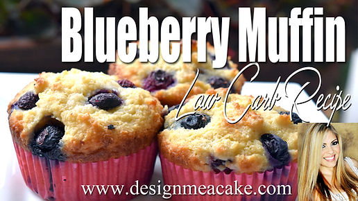 Low Carb/ low sugar Blueberry Muffin Recipe