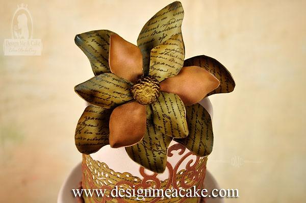 Edible Image Flower