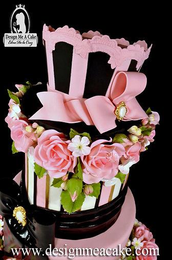 Hat Cake Topper