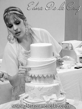 Cake Artist Edna De La Cruz from Design Me a Cake