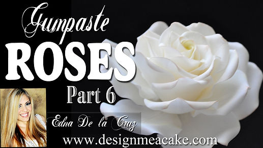 Gumpaste Roses Tutorial Part 6