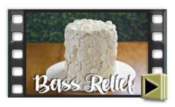 Knit cake style design