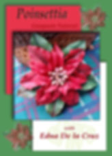 Learn to make gumpaste poinsettia flowers