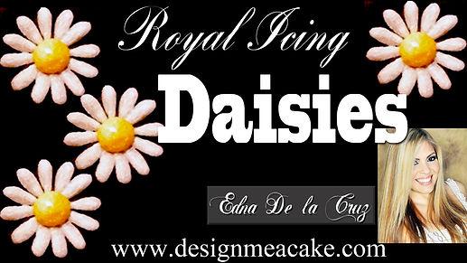 Royal Icing Daisies