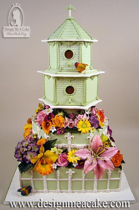 Birdhouse Cake desgn