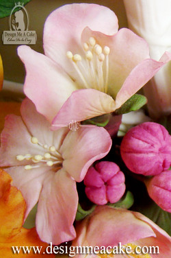 Gumpaste Blossom Flowers