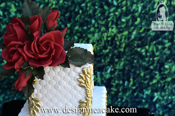 Beautiful gumpaste roses