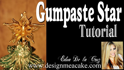 3D Gumpaste Star Tutorial