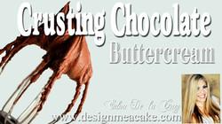 Crusting Chocolate Buttercream