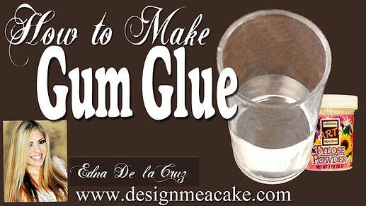 Gumpaste Glue Recipe