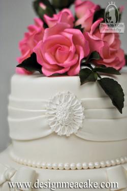 Fuschia Sugar Roses