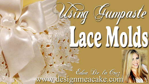 Lace Molds Tutorial for cakes
