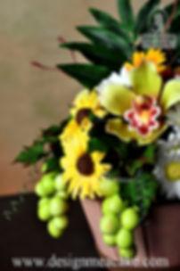 Cake Flower Basket Design