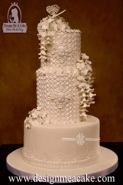 White Blossom Cake