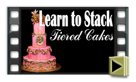 How to Stack Cakes