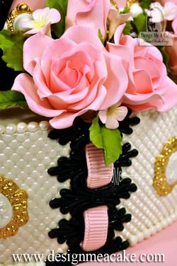Gumpaste Pink Roses