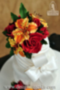 Roses and Alstroemeria flowers