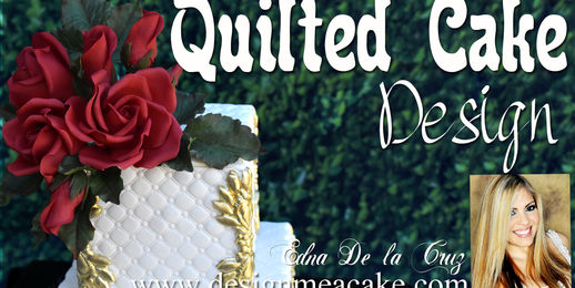 Quilted Cake Design