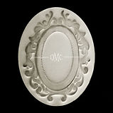 Oval Scroll Mold