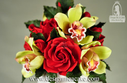 Orchids & Roses in Sugar