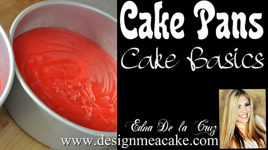 Prepping cake pans tutorial.