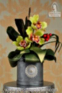 Gumpaste flower topper