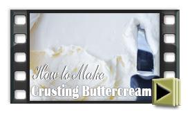 Crusting Buttercream