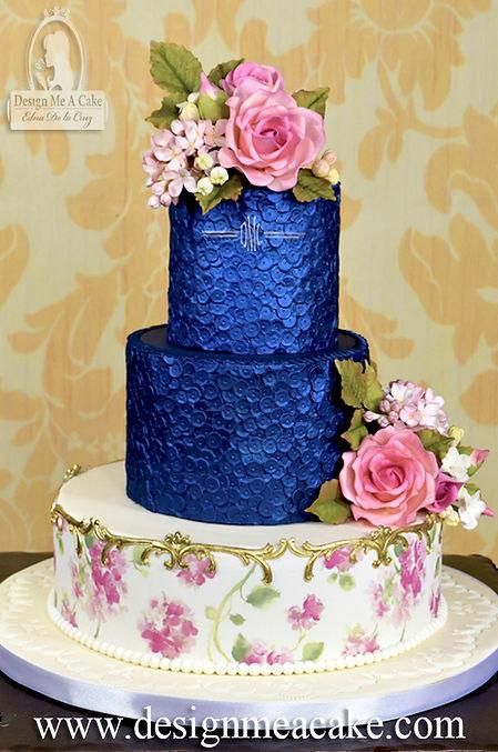 Simpress Jubilee Sequin Cake design