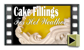Cake Fillings For Hot Weather