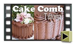 Cake Comb