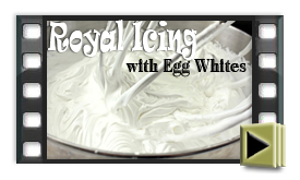 Royal Icing with Egg Whites
