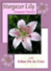 Learn to Make Gumpaste Stargazer lilies