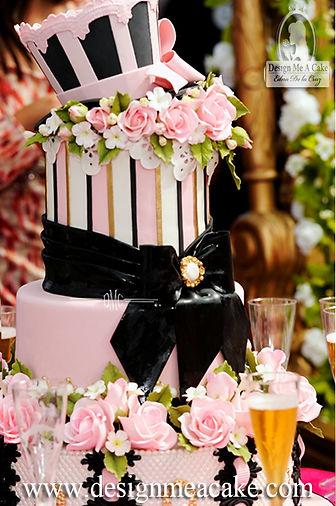 Quinceañera cake design
