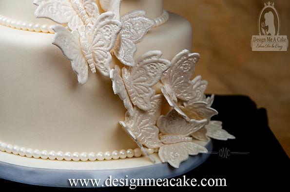 Butterflies in lace