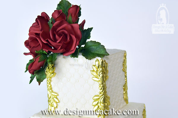 Learn to make gumpaste roses