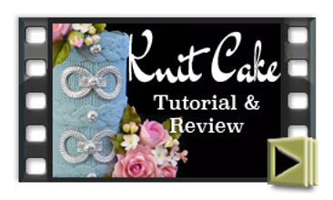 Knit cake style design