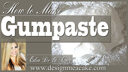 Gumpaste Recipe Tutorial