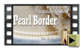 Gumpaste Pearl Tutoial
