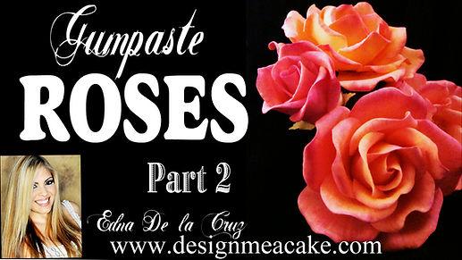 Gumpaste Rose Tutorial Part 2