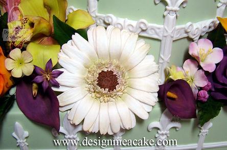 Gumpaste Gerbera Daisy