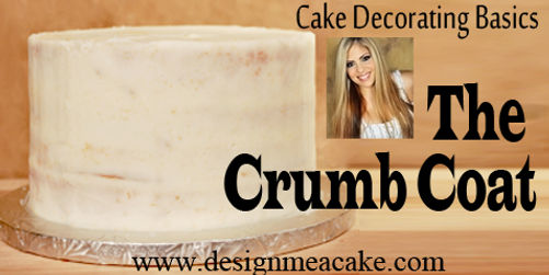 Learn what is a crumb coat and how to do it on cakes.