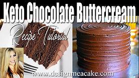 keto Chocolate buttercream
