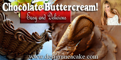 Chocolate Buttercream Tutorial Recipe