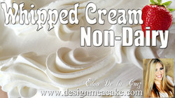 Non-Diary Whipped cream