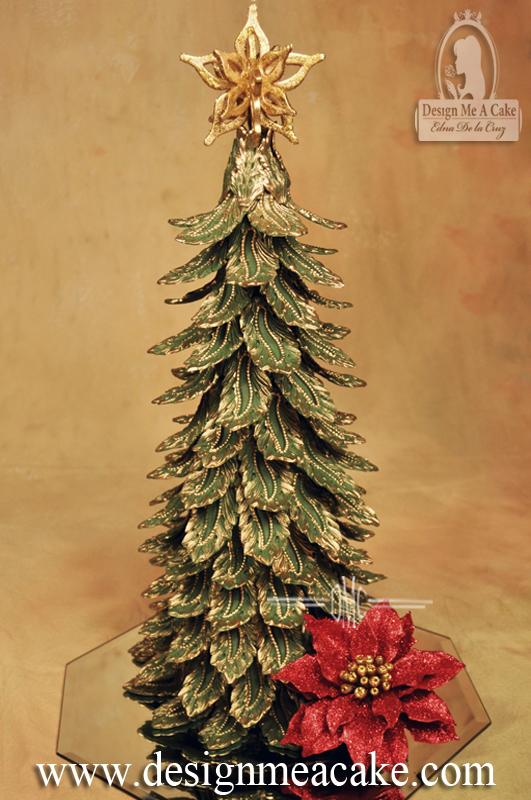 Christmas Tree Cake