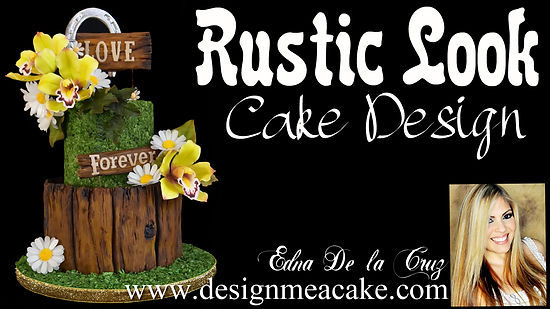 Learn how to Design a rustic cake