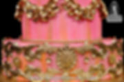 Baroque style cake