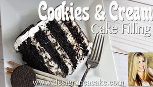 Cookies & Cream Cake FIlling